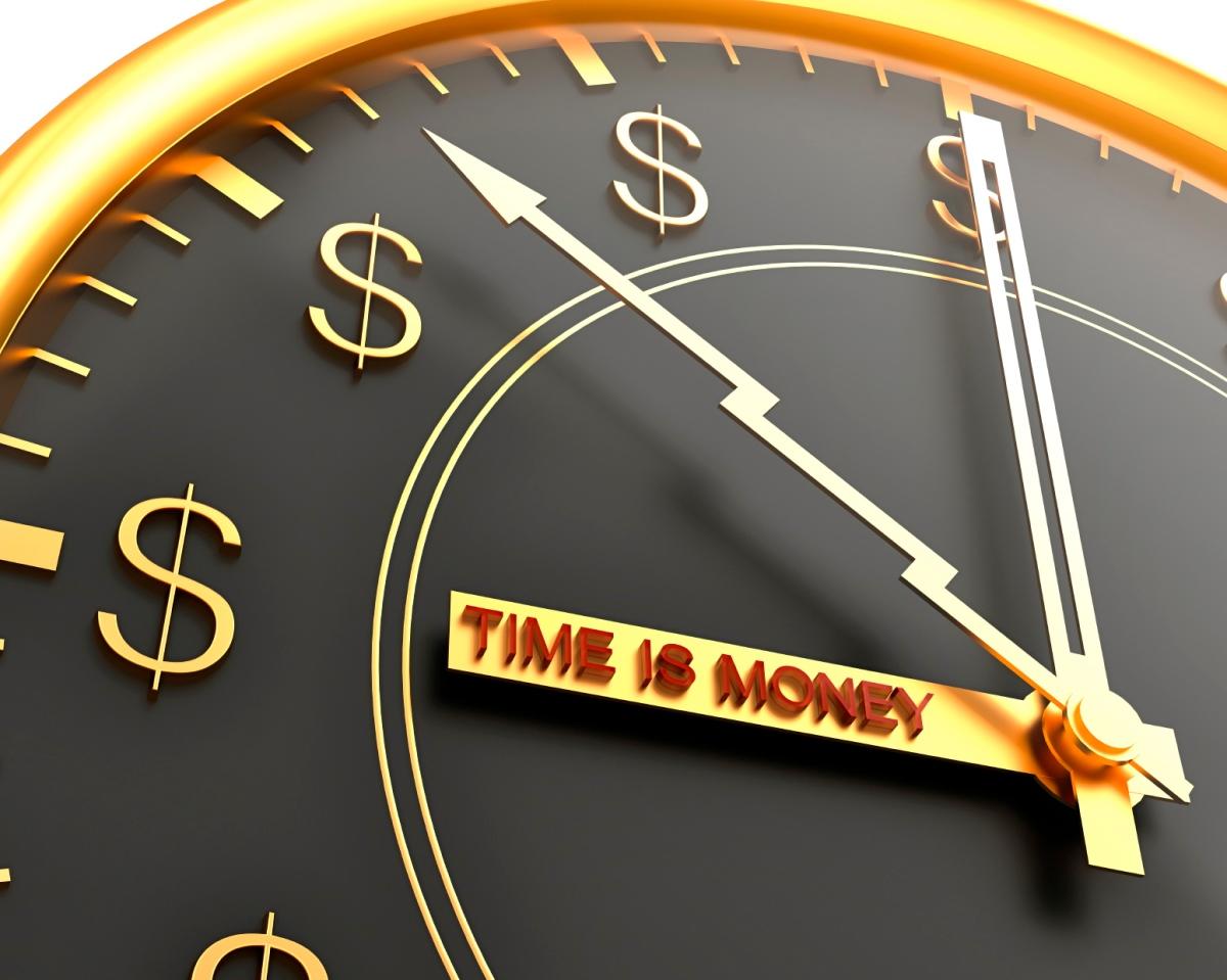 Tempo e energia é dinheiro.